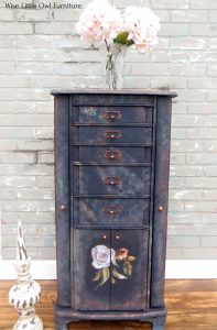 jewelry armoire wide shot
