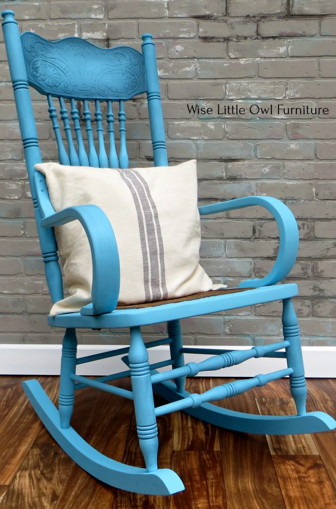rocking chair left side