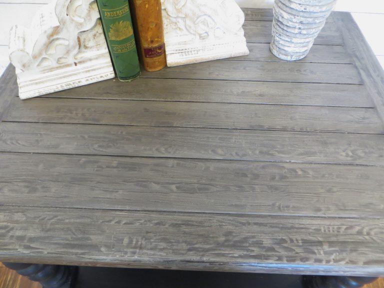 rustic wood grain coffe table top