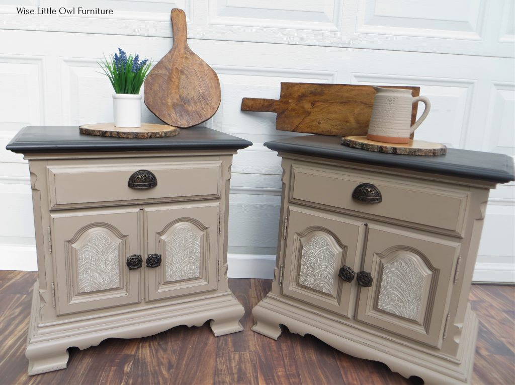 night stands with pretty details front