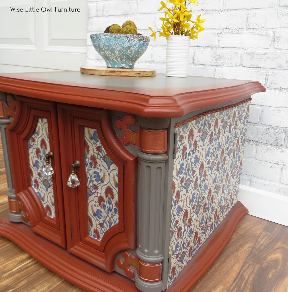 70s whimsical mediterranean table right side