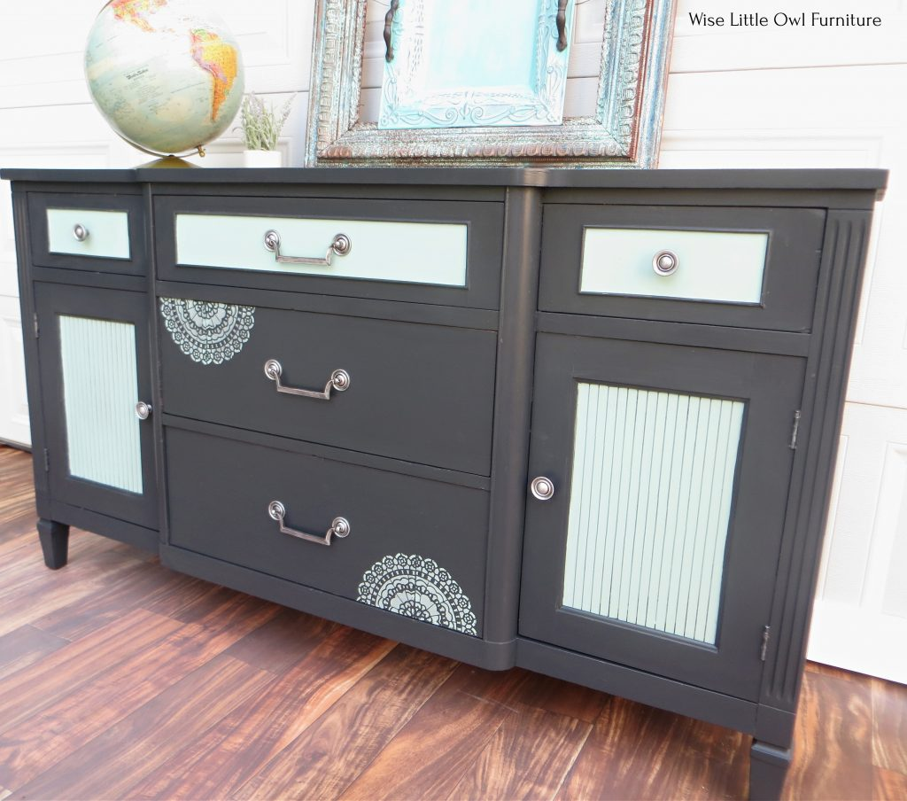 charcoal grey sideboard right